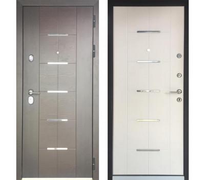 Входная металлическая дверь Персона Техно Люкс - Белый Ясень