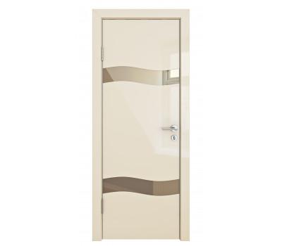 Дверная Линия ДО 503 Ваниль глянец зеркало бронза