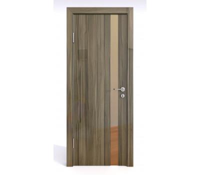 Дверная Линия ДО-507 Сосна глянец зеркало бронза