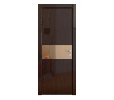 Дверная Линия ДО-501 Венге глянец зеркало бронза