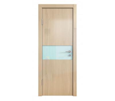 Дверная Линия ДО-501 Анегри светлый стекло белое матовое