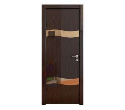 Дверная Линия ДО-503 Венге глянец зеркало бронза