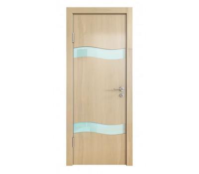 Дверная Линия ДО-503 Анегри светлый стекло белое матовое