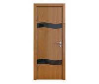 Дверная Линия ДО-503 Анегри темный стекло чёрное