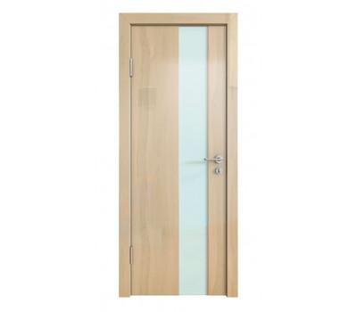 Дверная Линия ДО-504 Анегри светлый стекло белое матовое