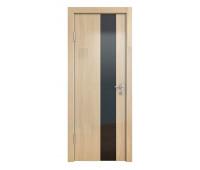 Дверная Линия ДО-504 Анегри светлый стекло чёрное
