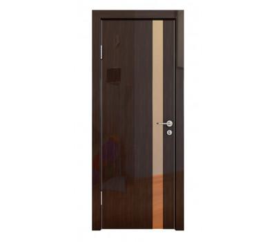 Дверная Линия ДО-507 Венге глянец зеркало бронза