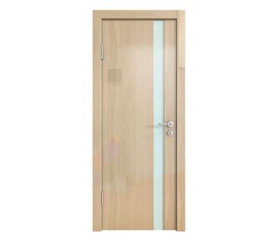 Дверная Линия ДО-507 Анегри светлый стекло белое