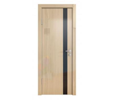 Дверная Линия ДО-507 Анегри светлый стекло чёрное