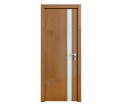 Дверная Линия ДО-507 Анегри тёмный стекло белое