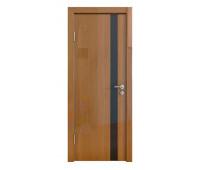Дверная Линия ДО-507 Анегри тёмный стекло чёрное