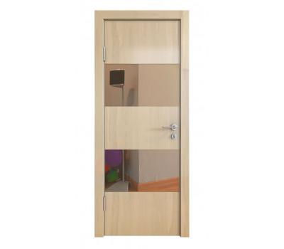 Дверная Линия ДО-508 Ангери светлый зеркало бронза