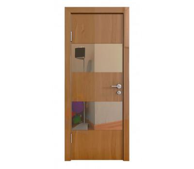 Дверная Линия ДО-508 Ангери темный зеркало бронза