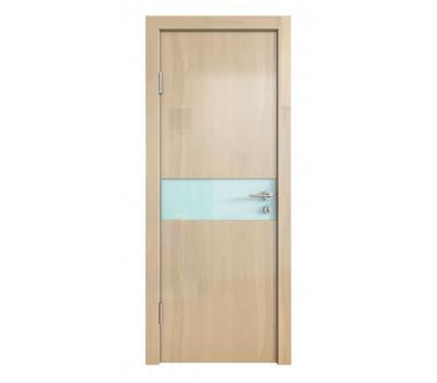 Дверная Линия ДО-509 Анегри светлый стекло белое матовое