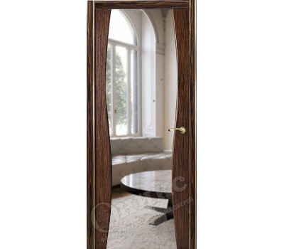 грация эбен с зеркалом