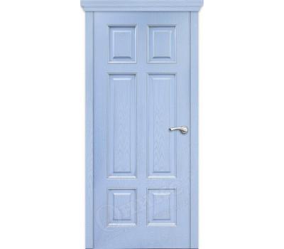 Гранд фрезерованное эмаль голубая