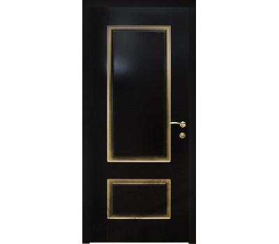 Марсель фрезерованное эмаль черная патина золото