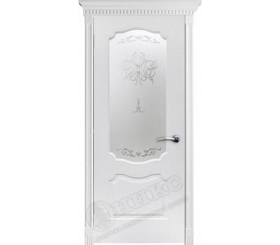 остекленная Венеция фрезерованное эмаль белая